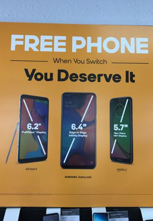 Free phones!!! for Sale in Fresno, CA