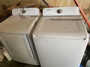 Samsung washer & dryer set for Sale in Prosser, WA