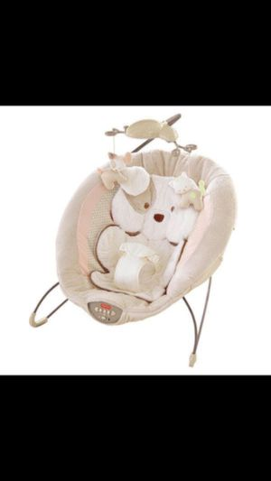 Used baby bouncing chair toy stick on the side is lose for Sale in Chelsea, MA