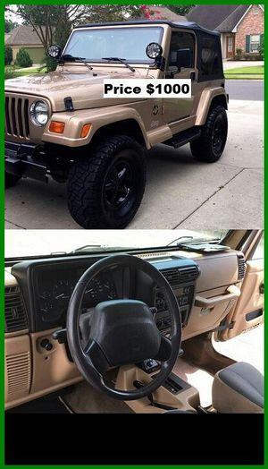 ֆ1OOO Jeep Wrangler for Sale in Richmond, CA