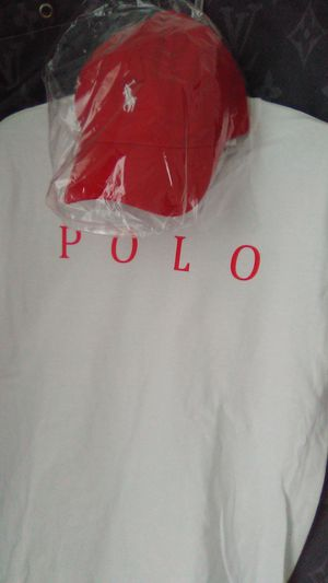 Polo, hat and shirt , socks combo for Sale in Martinsburg, WV