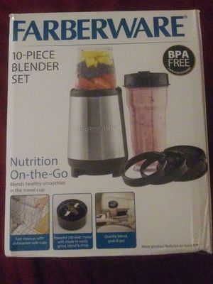 10 piece Blender Set *NEW* never opened for Sale in Belmont, NC