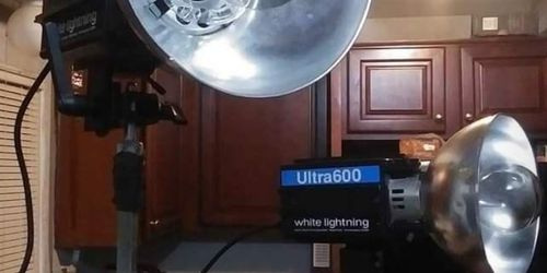 Photography Flashes And Background Stand for Sale in Westerville,  OH