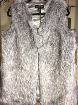 NWT Rachel Zoe Faux Fur lined Vest for Sale for sale  South Bend, IN