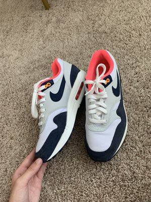 Nike Air Max 1's Midnight Blue/Hot Pink for Sale in Austin, TX