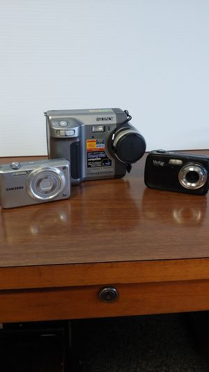 Cameras! Just in time for a Christmas for Sale in Springfield, OH