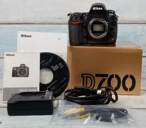 Nikon D700 Nikon D700 12.1MP Digital SLR Camera Japan for Sale in Chicago, IL