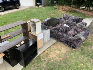 FREE Sofa and Bookshelves for Sale in Los Angeles, CA
