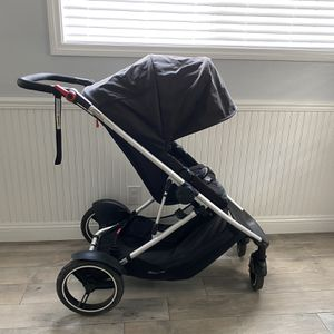 Phil & Ted Voyager Stroller With Car Seat Adapter for Sale in Placentia, CA
