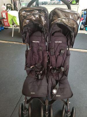 Maclaren double stroller for Sale in Buda, TX