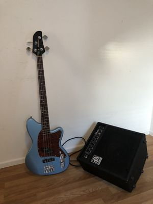 Ibanez TMB100 & Ampeg BA-108 for Sale in Vancouver, WA