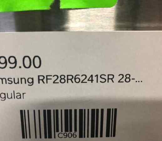 👍👍💲💲Samsung Refrigerator Model:RF28R6241SR💲💲👍👍 4KBK