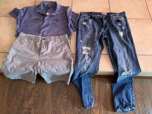 Men's Aeropostale, Dockers, golf shirt for Sale in Davenport, FL