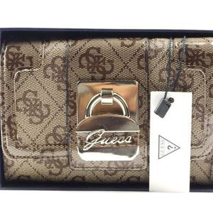 NIB VINTAGE Y2K GUESS Fabric Patent Leather Wallet for Sale in Bellevue, WA