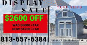 10x16 Barn for Sale in Tampa, FL