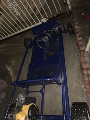 GO KART SUPER FAST 6.0 beefed up ready to have easy to handle gear steering Starts on first pull for Sale in City of Industry, CA