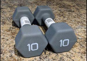 New 10lb Dumbbell Set for Sale in Melbourne, FL