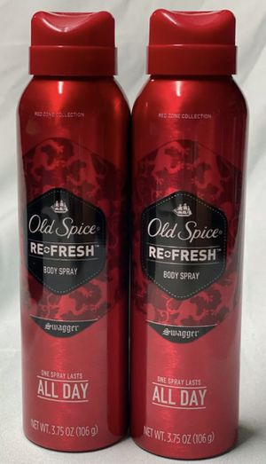 Old Spice Swagger Body Spray Red Zone Collection Set Of 2 NEW for Sale in Los Angeles, CA