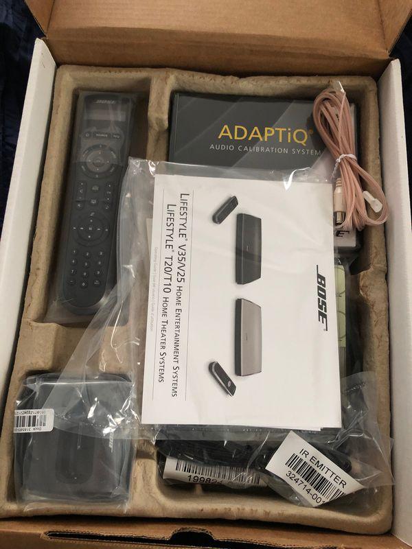 Bose AV35 surround sound system.