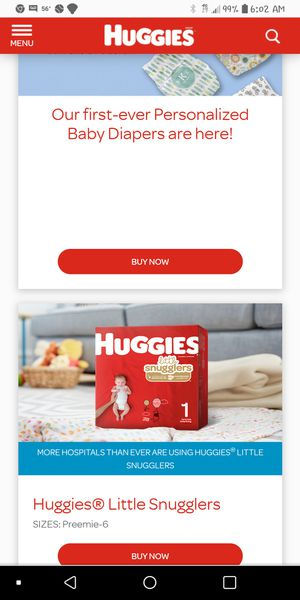 Huggies diapers for Sale in Levittown, PA