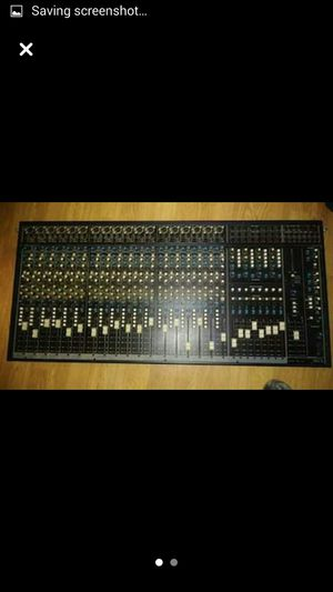 Seck soundboard mixer for Sale in Kolin, LA