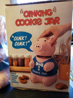 Oinking Pig Cookie Jar for Sale in Manassas,  VA