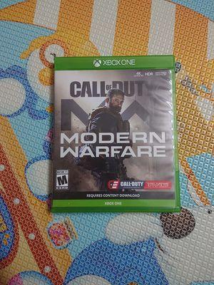 Xbox one - modern warfare for Sale in Los Angeles, CA