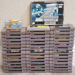 Super Nintendo Game Lot for Sale in Fort Lauderdale, FL