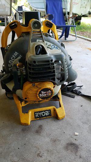Ryobi backpack blower for Sale in PT CHARLOTTE, FL