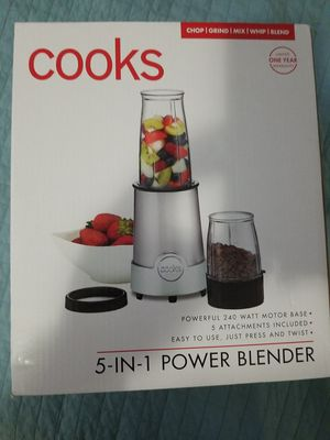 Cooks 5 in 1 power blender for Sale in Hialeah, FL