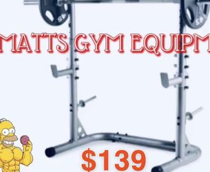 New Olympic Squat Rack (weights And Bar Sold Separately ) for Sale in Fort Lauderdale,  FL