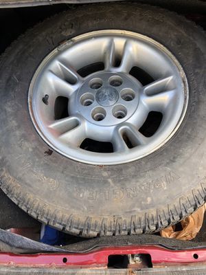 Ram rim and tire for Sale in Green Bay, WI