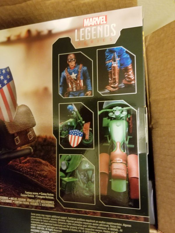 Marvel Legends 80th Anniversary Ultimate Captain America with Motorcycle fan Exclusive