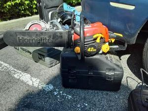 Home lite chainsaw for Sale in Redondo Beach, CA