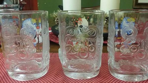 Collectible 2000 Disney Glasses
