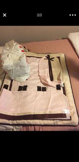 Baby girl crib bedding for Sale in Renton, WA