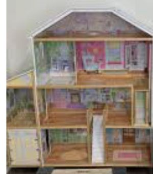 Doll house magnetic castle dollhouse only for Sale in Huntington Beach, CA