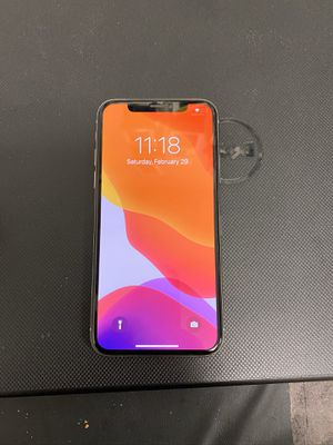 iPhone X 64gb unlocked for Sale in Rockville, MD