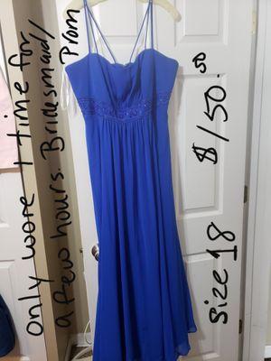 Plus size dresses ( prom/bridesmaid) for Sale in Benson, IL