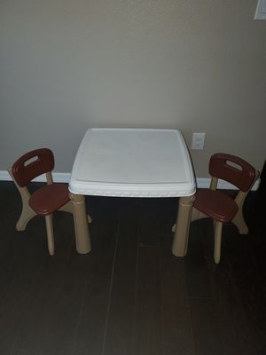 Step 2 kids table and chairs for Sale in Hudson, FL