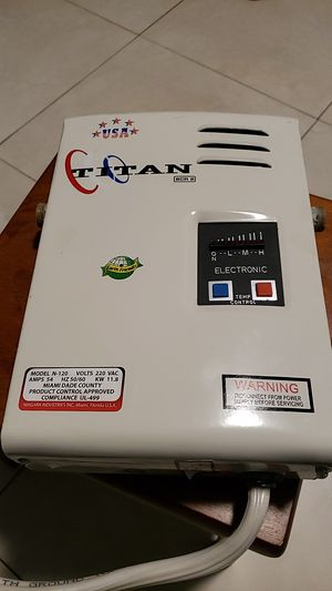 Titan SCR 2 Electronic Water Heater for Sale in Miami Springs, FL