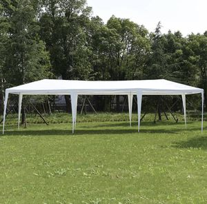 White Canopy Wedding Tent Gazebo (Portable, Easy to install) for Sale in Watertown, MA