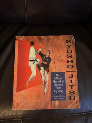 Jitsu fighting book for Sale in San Antonio, TX