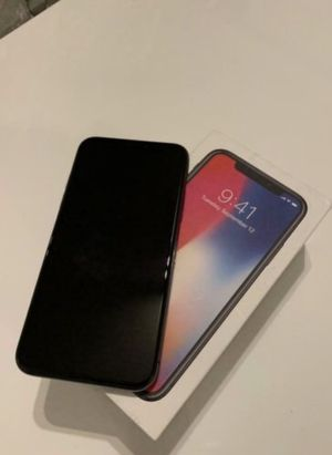 Space gray iPhone X 64gb factory unlocked for Sale in Seattle, WA