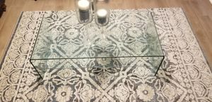 Glass formal center and set table for Sale in Rosenberg, TX