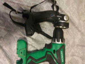 Hitachi 12v drill and light for Sale in Carrollton, GA