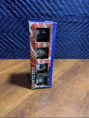 Puerto Rico Flag Shot Glass Bar Liquor Spirits Souvenir Collectible Gift Cup 4TT for Sale in Snellville, GA