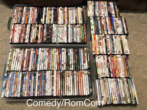 265 Comedy/RomCom DVD's and blurays - bulk lot for Sale in Grayson, GA
