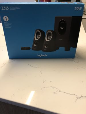 Logitech PC Speakers with Subwoofer for Sale in Seattle, WA