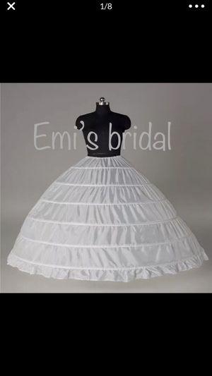 New crinoline under skirt for wedding dresses for Sale in Goodyear, AZ